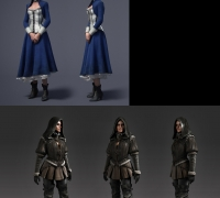 上海808游戏梦工厂承接次时代角色/优质外包商/CG视频