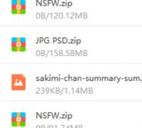 sakimichan104,105包含PSD文件和作畫視頻,最高贊助等級