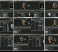 Autodesk MotionBuilder 2013使用FaceShift的面部动作捕捉动画数据