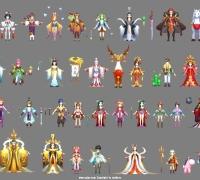 东方神话武侠-自由幻想800+模型角色.宠物.怪物.换装