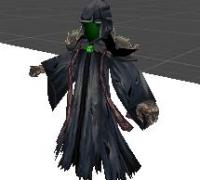 黑暗法师(可以拆装剑)5个动作 unitypackage格式