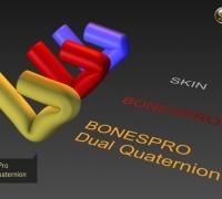 BonesPro 4.7(支持 3DMAX 2010-2020)+漢化補丁+安裝教程