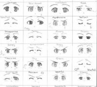 【精品】动漫少女眼睛的画法
