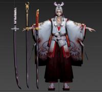 阴阳师模型:鬼切(仅模型)
