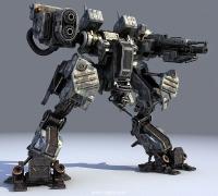 科幻机甲,超精细,带动画