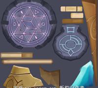 【魔灵召唤】全套资源(特效、UI、icon及贴图等)