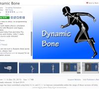 Dynamic Bone-Unity动态骨骼插件
