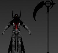 死神恶灵镰刀恶魔