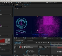 AE中Form插件科幻UI界面制作视频教程
