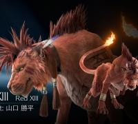 《最终幻想7:重制版》新视觉图 被囚禁的圣兽赤红十三