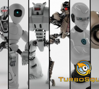 科幻机器人合集TurboSquid Robot Collection 16