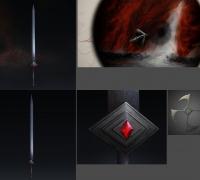 专业承接:次时代游戏美术项目(原画、模型)