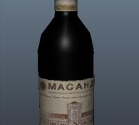 游戏红酒瓶