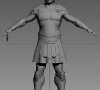 羅馬小兵模型