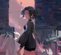 三维动画短片《蝶》