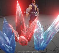 浮生若梦unity3d特效 第2课扩展 冰材质调节