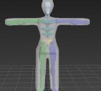 3dsmax-骨骼蒙皮插件weightPro使用