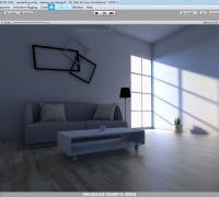 Unity3d 2019室内光照贴图lightmap快速烘焙