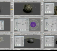 Particle Flow Toolbox#2 3  Velocity Sculpting RayFire Fragmenter PhysXplosion...