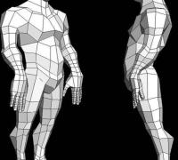 简洁的多边形人物建模教程