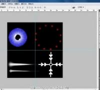 简简单单学特效贴图系列第3集  雪花 眼睛等贴图制作