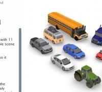 Unity3d移动平台汽车模型包下载