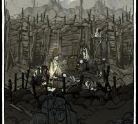 《忠勇之心 偉大戰爭》2D游戲資源 人物切片 圖標 特效