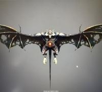 飞行一套蒙皮,加攻击,死亡等等各种龙,鸟,蝙蝠