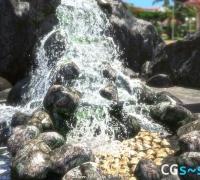 realflow制作写实瀑布