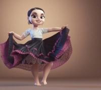 丝滑的跳舞动画,非常Nice!
