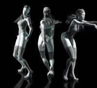 动作捕捉软件iclone  舞蹈动作
