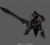 不错的一套重剑动作