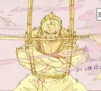 《海贼王》索隆VS基拉打斗动画作画及原片对比