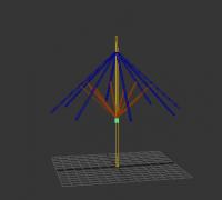 3Dmax    雨伞的绑定制作(免费)