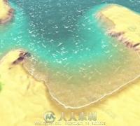 U3D卡通水面shader