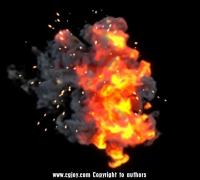 一个爆炸u3d特效源文件,淘宝买的。换点卷