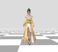 天刀 瑯琊女性模型