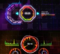 AE模板:音乐动画效果