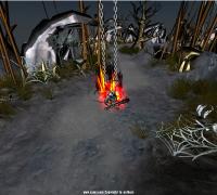 Unity3D写的一个偏水墨风格的手游demo