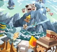 韩国塔防手游Elf Defense—2D游戏角色和Flash特效设计【黄河收理】