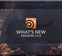 Houdini15.5新特性