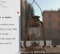 Unity3d 遗落城市的道具模型包下载