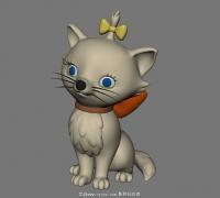 小猫咪模型