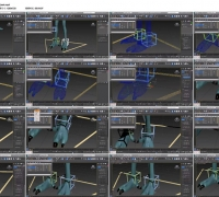 [3DMAX教程] 3dsMax2014骨骼绑定快速入门视频教程 660MB