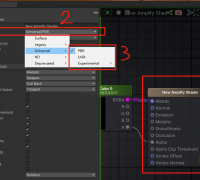 ASE插件怎么设置成URP渲染管线支持模式