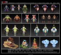 【广州博狮网络】提供最具性价比游戏美术解决方案,协助贵司项目飞速完成