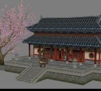 诛仙场景  寺院