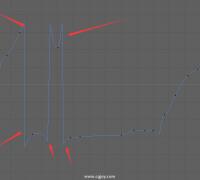 求助大佬為什么曲線變成這樣子了