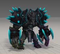 一个绑定好的怪物