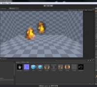 Unity3d 5.0游戲特效入門到精通教程第4課 場景火焰與傳送門 cgjoy JK講解